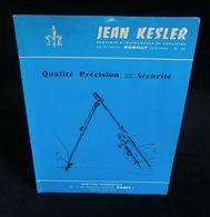 ( Topographie Instruments De Mesure ) Catalogue  COMPAS TIRE-LIGNES JEAN KESLER RUMILLY HAUTE-SAVOIE 1960 - Artesanos