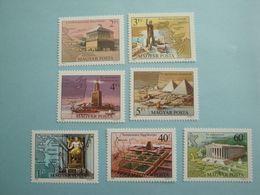 1980 Hongrie Yv 2709/15  ** MNH Michel  3411/7  Scott 2631/7  SG 3301/7 Les 7 Merveilles Du Monde - Hongrie