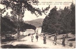 FR66 FONT ROMEU - MTIL - Ermitage - Pèlerinage - Avenue Du Calvaire - Animée - Belle - Otros Municipios