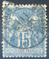 France N°90 - TAD Levée Exceptionnelle 1889 - (F1435) - 1876-1898 Sage (Type II)