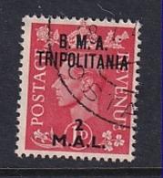 Tripolitania: 1948   KGVI 'B.M.A. Tripolitania' OVPT   SG T2    2l On 1d    Used - Tripolitaine