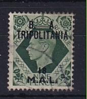Tripolitania: 1950   KGVI 'B. A. Tripolitania' OVPT   SG T22    18l On 9d    Used - Tripolitaine