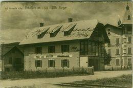 DOBBIACO ( BOLZANO ) VILLA STEGER - EDIZIONE LOR. FRANZL - SPEDITA 1934 (BG4018) - Bolzano (Bozen)
