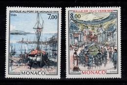 Monaco - YV 1696 & 1697 N** Complete Tableaux Cote 10,20 Euros - Monaco
