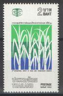 Thailande - YT 1450 ** MNH - 1992 - Canne à Sucre - Tailandia