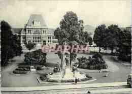 CPM Tournai Place Crombez Et La Gare - Tournai