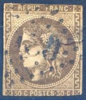 France N°47 - Second Choix - Voir Scan - (F1439) - 1870 Emission De Bordeaux