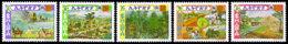 Ethiopia, 1982, UNEP, United Nations Environmental Programme, MNH, Michel 1141-1145 - Etiopía