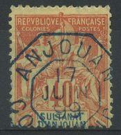 Anjouan (1892) N 10 (o) - Anjouan (1892-1912)