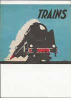CATALOGUE   TRAINS       EDITIONS  DU   PELICAN   BLANC - Spoorweg