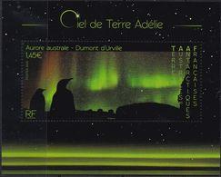 TAAF, 2020, 1070 Block 75,  MNH **, Himmelserscheinungen, Les Phénomènes Célestes - Neufs