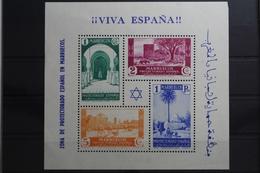 Spanisch-Marokko Block 2 Mit 146-148 Und 150 ** Postfrisch #UM107 - Marocco (1956-...)