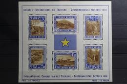 Belgisch-Kongo 179-184 ** Postfrisch Aus Block 2 (Blockrand Mit Falz) #UM103 - Congo Belga