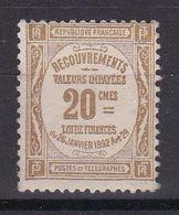 D163/ TAXE / N° 45 NEUF** COTE 120€ - France