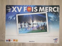 Poster XV Fais Merci - FFR - Rugby