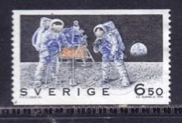 SWEDEN,1994, Used Stamp(s),Moon Landing , SG1740,  Scan 20328, - Suecia