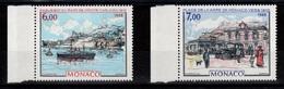 Monaco - YV 1643 & 1644 N** Complete Tableaux Cote 10,20 Euros - Monaco
