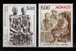 Monaco - YV 1657 & 1658 N** Tableaux - Monaco