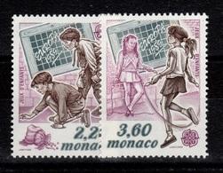 Monaco - YV 1686 & 1687 N** Europa 1989 Cote 5 Euros - Monaco