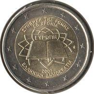 GR20007.1 - GRECE - 2 Euros Commémo. Traité De Rome - 2007 - Grèce
