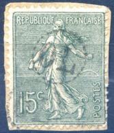 France N°130 - Oblitéré OL - (F1455) - 1903-60 Semeuse Lignée