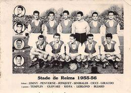 Sports - N°67984 - Equipe De Football - Stade Reims 1955-56 - Football