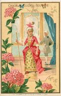 Chromos .n° 44 . Chocolat Guerin Boutron . Hortensia . Orgueil  . - Guerin Boutron