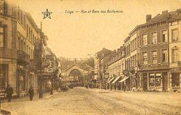 028 621 - CPA - Belgique - Liege - Rue Et Gare Des Guillemins - Liege