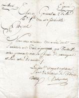 1794 Récupération CORDES DE CLOCHES Envoyées à MARINGUES Puis à  NANTES (pour La Marine) - Adm. De THIERS - Documents Historiques