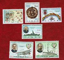 Timor 1967/69 Nice Lot MNH # 338/39, 349, 350, 351, 352 - Timor