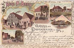 Gruss Aus DROCHTERSEN Bei Stade, Germany, 1899 - Germany
