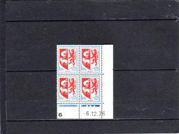 N° 1468 - 0,05F Blason D'AUCH - M De  M+N - 3° Tirage Du 3.12 Au 15.12.76 - 6.12.1976 - - Coins Datés