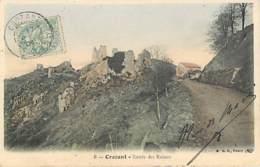 CROZANT - Entrée Des Ruines - 8 BF - Crozant