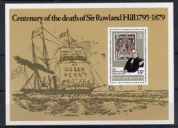 Falkland Islands, 1979, Death Of Rowland Hill, UPU, United Nations, MNH, Michel Block 2 - Falkland Islands
