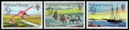 Falkland Islands, 1979, UPU Membership, United Nations, MNH, Michel 292-294 - Falklandeilanden