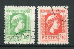 18422 FRANCE N°636, 641 °  Marianne D'Alger  1944  TB - 1944 Coq Et Maríanne D'Alger