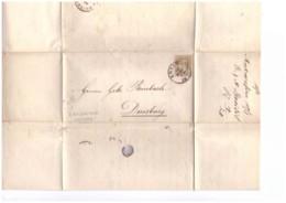 E61  -   ANVERS  18.3.1878    /   LETTERA SPEDITA A  DUISBURG  AFFRANCATA CON IL NR. 29 CAT. MICHEL - 1883 Leopold II