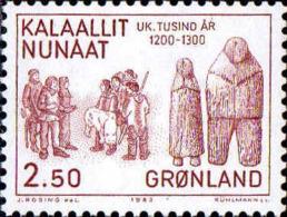 Groenland Poste N** Yv:131/133 Histoire Du Groenland Millénaire 3.Serie - Neufs