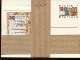 1997  BK 54/65 **  10 Postkaarten 17 Bfr (Verpakt) - Cat Waarde 18.00  Euro - Miniaturen Getijdenboek Van Kleef - Cartes Postales [1951-..]