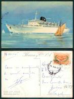 BARCOS SHIP BATEAU PAQUEBOT STEAMER [BARCOS # 03115 ] - IBARRA CIA S.A. SEVILLA CABO SAN ROQUE CABO SAN VICENTE - Steamers