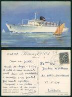 BARCOS SHIP BATEAU PAQUEBOT STEAMER [BARCOS # 03118 ] - IBARRA CIA S.A. SEVILLA CABO SAN ROQUE CABO SAN VICENTE - Steamers
