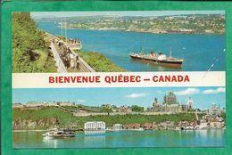 Québec Promenade Des Gouverneurs & Vieux Murs De La Citadelle 2scans - Québec - La Citadelle
