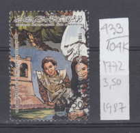 104K633 / 1987 - Michel Nr. 1772 Used ( O ) 18th Anniversary Of September Revolution , Libya Libyen Libye - Libyen