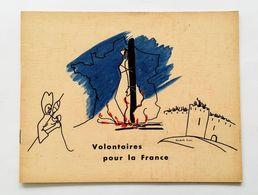 Volontaires Pour La France, Hélène Terré, Elisabeth Gross, Germaine Krull, 83 Photographies Heliogravure, 1946. WW2 Rare - Oorlog 1939-45
