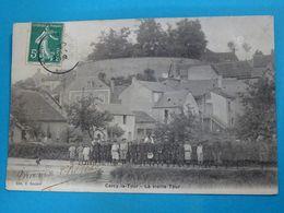 58 ) Cercy-la-tour - La Vieille Tour  - Année 1909  EDIT : Coudant - Autres Communes