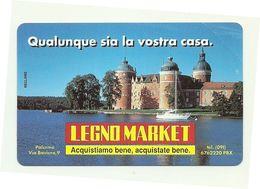 Italia - Tessera Telefonica Da 2.000 Lire N. 182 - Legno Market - Italia