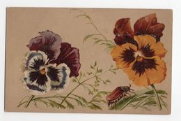 HANNETONS * HANNETON *FLEURS/PENSEES * Style CATHARINA KLEIN * - Insekten
