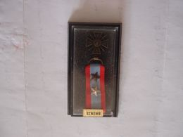 Médaille Décoration Réduction TOE Avec 2 Citations - France