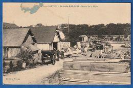 CPA 72 FRESNAY SUR SARTHE - SCIERIE LELOUP - Route De La Hutte - Autres Communes
