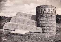 71, Brancion, Monument Erigé à La Mémoire Des Résistants De La Région Tournus-Brancion - Andere Gemeenten